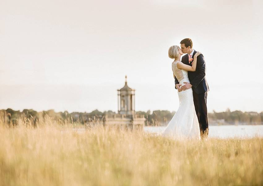 A Hand-Crafted Normanton Church Wedding