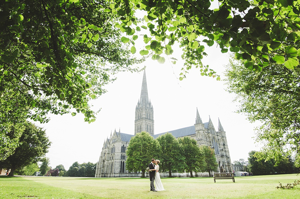 Liv & Tom's Salisbury Cathedral Wedding