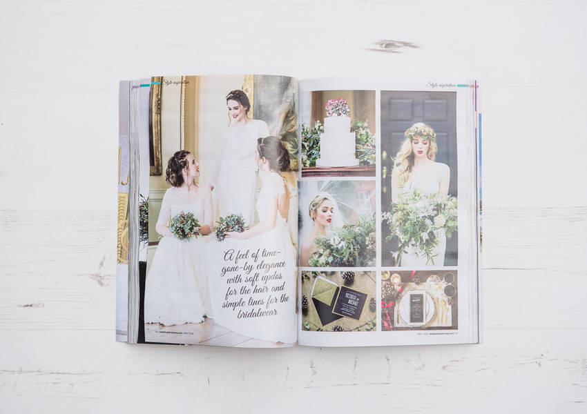 Wedding Ideas Magazine Feature: Norwood Park Winter Shoot
