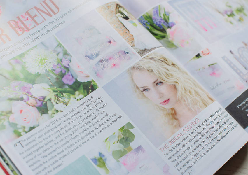 East Midlands Wedding Magazine Feature: Spring Shoot