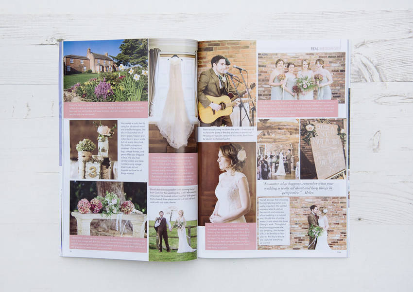 East Midlands Wedding Magazine Feature: Helen & David