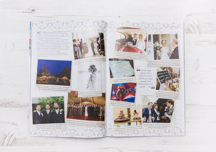 East Midlands Wedding Magazine Feature: Leah & Rob's Tipi Wedding