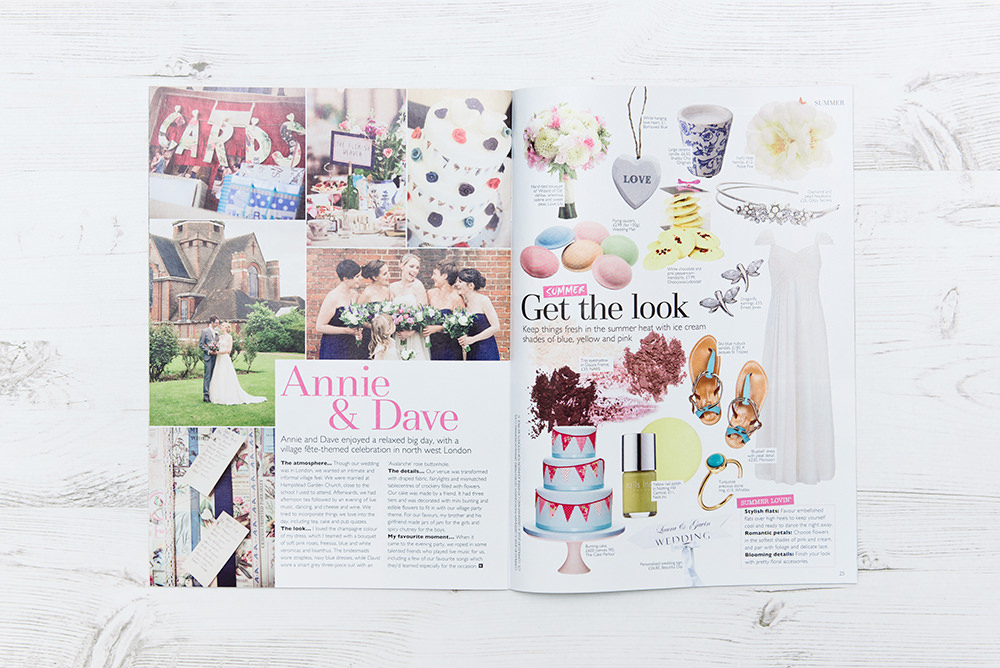 Wedding Magazine Feature: Village Hall Wedding