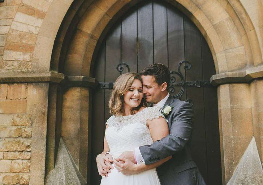 Camilla and Jamie's Winter Uppingham Wedding