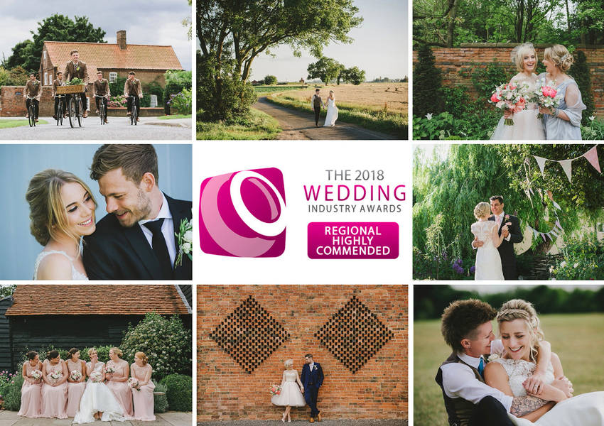 The Wedding Industry Awards 2018 : East Midlands Best Wedding Photographer