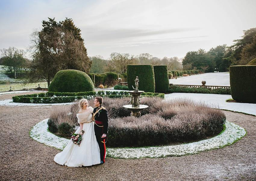 Winter Wedding at Stoke Rochford Hall