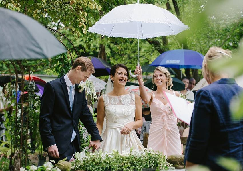 A Vintage Garden Party Wedding