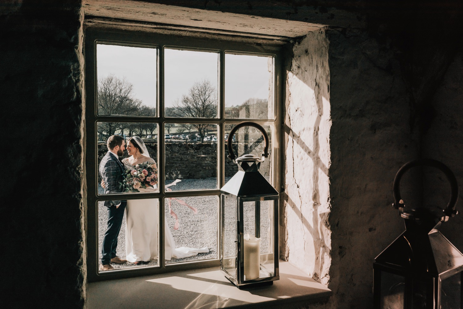 A Winter Wedding at the Tithe Barn, Bolton Abbey