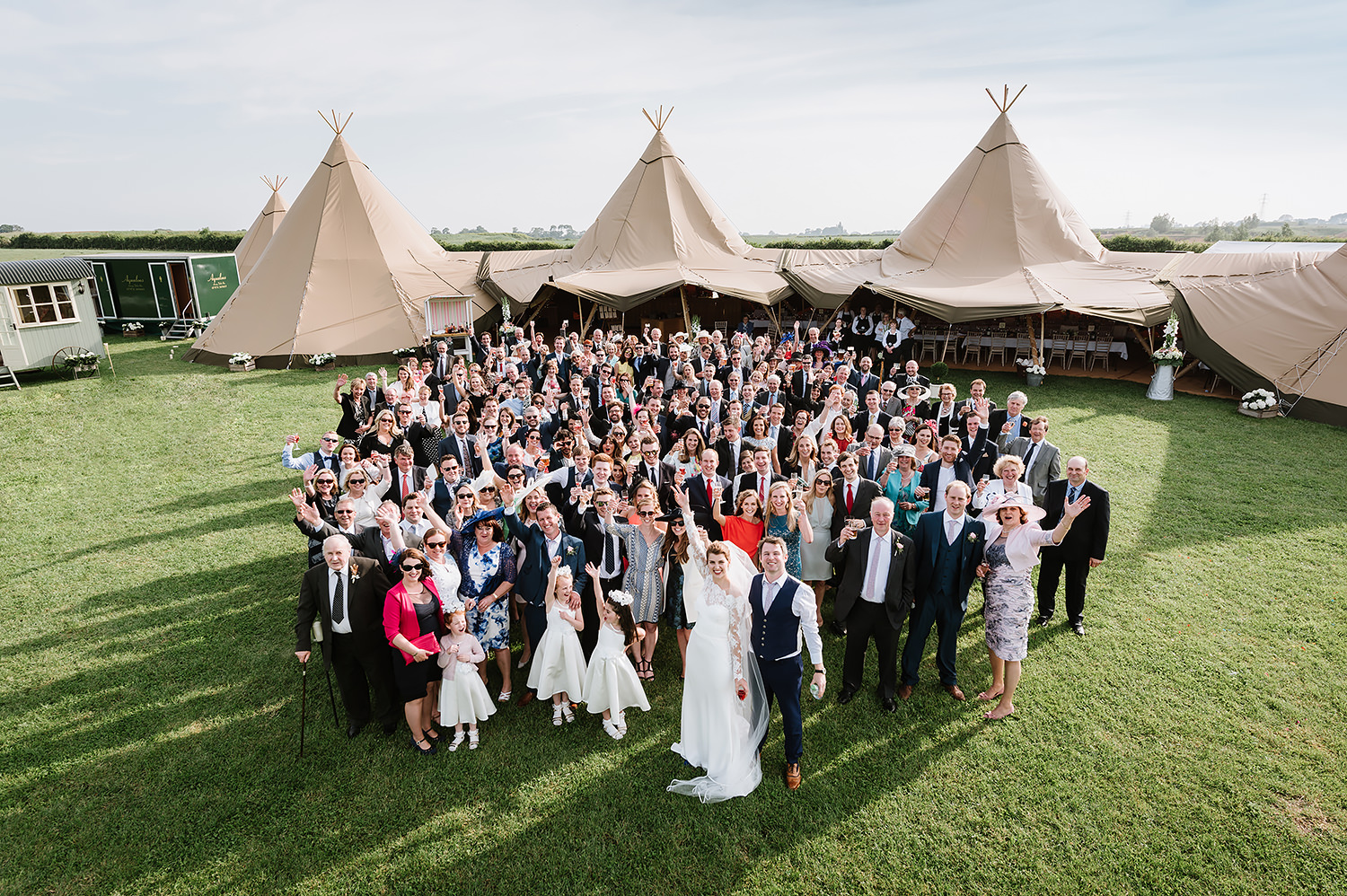Lucy & David's Home Farm Wedding Photography