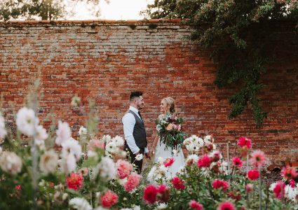 Rustic & Colourful Irnham Hall Wedding Photography