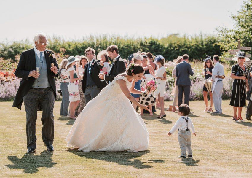 Beautiful Summer Marquee Wedding Photography