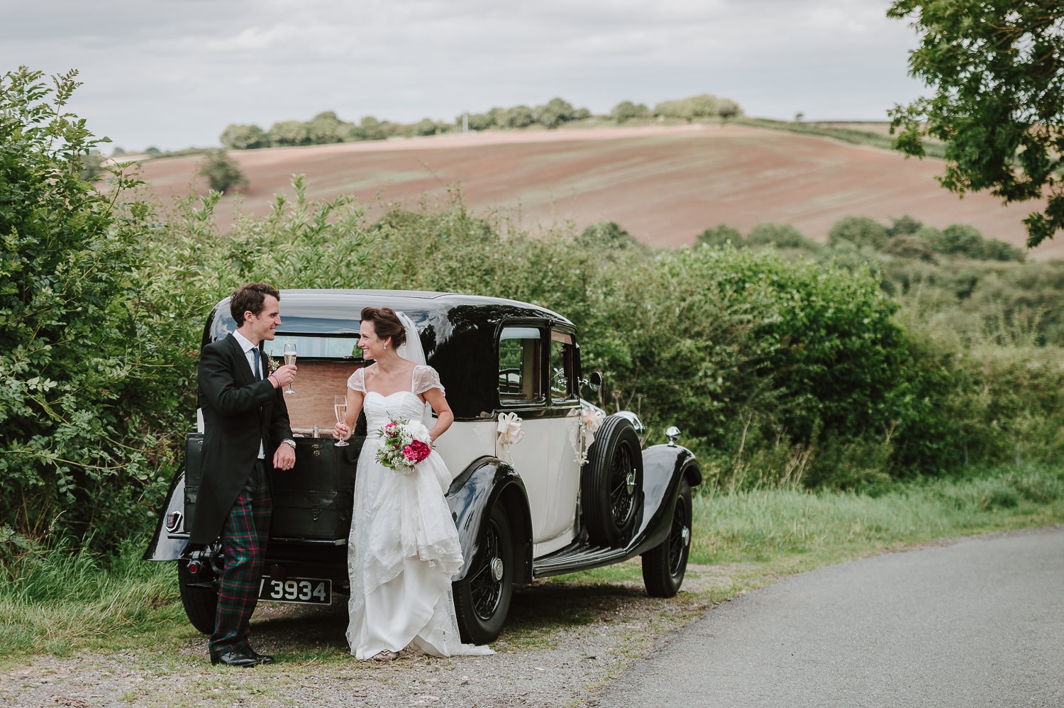 Charli & Will's Rustic, Relaxed Rutland Wedding